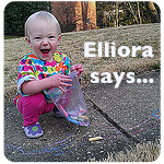 Elliora says. . .